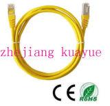 Cable de conexión UTP Cat5e RJ45 macho a macho plano Ethernet Cable LAN de red