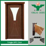 Porte intérieure composée en plastique en bois imperméable à l'eau de nouveau produit