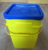 [هدب/بّ] مربّعة بلاستيكيّة طعام يعبّئ وعاء صندوق [20ل]
