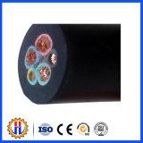 Câble isolé par contrôle en caoutchouc de gaine (YC)