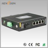 4 elektrischer und 1 Fx industrieller Netzwerk-Portschalter
