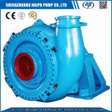 Pompe de sable centrifuge horizontale de gravier de drague d'industrie à haute pression