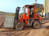 Tonelada 3.0m dos Forklifts 3.0 do terreno Xdyc30