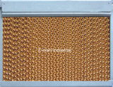 Almofada evaporativa refrigerar evaporativo da estufa da venda quente