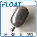 304 de bola de acero inoxidable pulido de la bola flotante de los buques pressuer