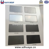 Qualitäts-PVD farbige Edelstahl-Blatt-Metallplattenwand
