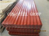 El precio competitivo prepintó la hoja de acero acanalada Aluzinc galvanizada del material para techos