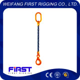Сваренная сталь одна грузоподъемная цепь ноги поднимаясь