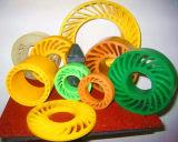 물결 모양 기계를 위한 PU 으깸 바퀴