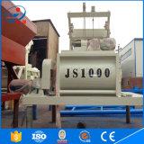 Fabricación profesional completa en mezclador concreto de la especificación Js1000