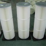 Cartouche cylindrique de filtre à air pour le collecteur de poussière