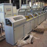 Cadena de producción de alta frecuencia del Rebar de la calefacción equipo de calefacción de inducción