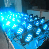 9PCS mini solo LED de luces con pilas LED PAR Can