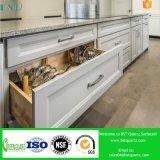 Pierre artificielle grise de Qaurtz pour des fournisseurs de partie supérieure du comptoir de cuisine