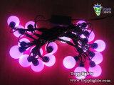 4cmの直径RGB LEDの球ストリングライト