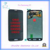 SamsungギャラクシーS5 G900のためのタッチ画面LCDはアセンブリを表示する