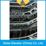 Heavy Duty Altura estándar de pasajeros cubierta automática Escalera mecánica Pública
