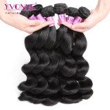 Afrouxar o cabelo humano brasileiro do cabelo 100% do Virgin da onda