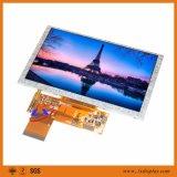 """40Pins 5 """" 800*480 ângulo de visão largo do indicador da definição TFT LCD"""