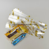 1.6mil BOPP transparentes Polyseitliches Stützblech-Plastiktasche des beutel-/BOPP mit Drucken