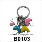 Anello chiave di figura della moneta, catena chiave (GZHY-KA-006)