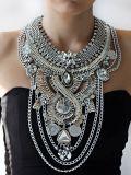方法マルチ層の金属の合金水晶文のチョークバルブのネックレスの宝石類