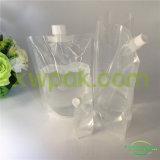 Sacchetto liquido trasparente del becco per acqua