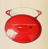 Formato 27X21.5cm della casseruola del Cookware del ghisa di rifinitura dello smalto
