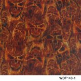 Kingtop 0.5m Schedels van de Breedte en de Overdracht die van het Water van het Ontwerp van de Vlam Hydrografische Film Wdf747 afdrukken