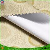 Tela impermeable tejida telar jacquar casero de la cortina del apagón del franco del poliester de la materia textil
