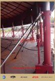 Sistema de levantamento hidráulico para os tanques