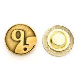 磁石が付いている昇進項目ブランドのロゴのバッジ