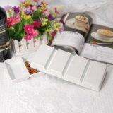 Della Cina nuovi Tapas di ceramica degli scompartimenti il più in ritardo che serviscono i piatti