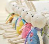 Juguete lindo de la felpa del conejito del conejo