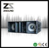Ligne coaxiale haut-parleur de néodyme de pouvoir de Zsound La212 du système PA d'alignement