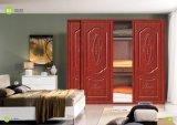 Экономичная нутряная деревянная округленная дверь PVC MDF (yg-011)