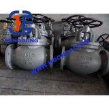 Valvola di globo industriale della flangia dell'acciaio inossidabile 304 di API/ANSI