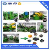 중국은 기계를 재생하는 고무 타이어를 사용했다