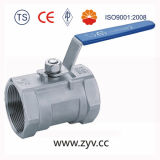 1PCS Stainless Steel Threaded End Ball Valve