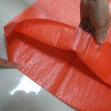 オレンジカラーPPによって編まれる袋か動物食糧袋または工場供給袋