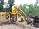 Завод сбывания 35m3/H портативный передвижной конкретный