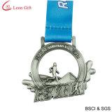 Медаль сувенира поставкы 3D античное серебряное