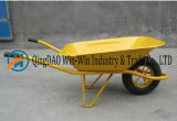 Roda da borracha dos Wheelbarrows Wb6400 da jarda da mão