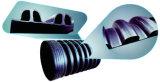 최신 최신 감기 기술을%s 가진 판매 HDPE 안 늑골에 의하여 강화되는 물결 모양 유형 나선 관 구조 벽 배관 생산 라인 밀어남 선