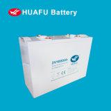 Batterie d'alimentation au plomb 2V 1000ah à cycle profond pour système solaire
