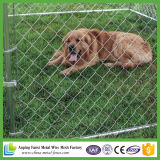 Chaîne Link Wire Mesh Iron Fence Handmade Dog Kennel