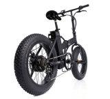 20 дюймов складывая Bike e с тучной автошиной