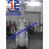 Soupape à vanne industrielle de bride d'acier de moulage de Wcb de cale d'API/DIN