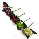 Do Mão-Sentimento Home da decoração da alta qualidade flores artificiais materiais do plutônio Rosa