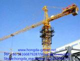 Hongdaの6トンロードが付いているニースの品質のタワークレーン